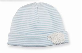 Felt Lamb Hat - Blue | Baby | Mud Pie