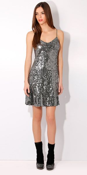 c18bbf0087 Silver sequin for daytime glam