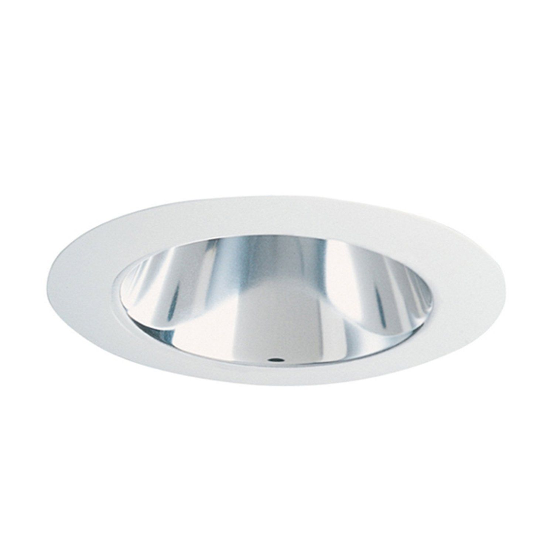juno lighting 447hz wh 4 inch adjustable cone recessed trim haze