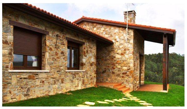 Fachadas de casas sencillas de un solo 600 350 for Casas de campo economicas