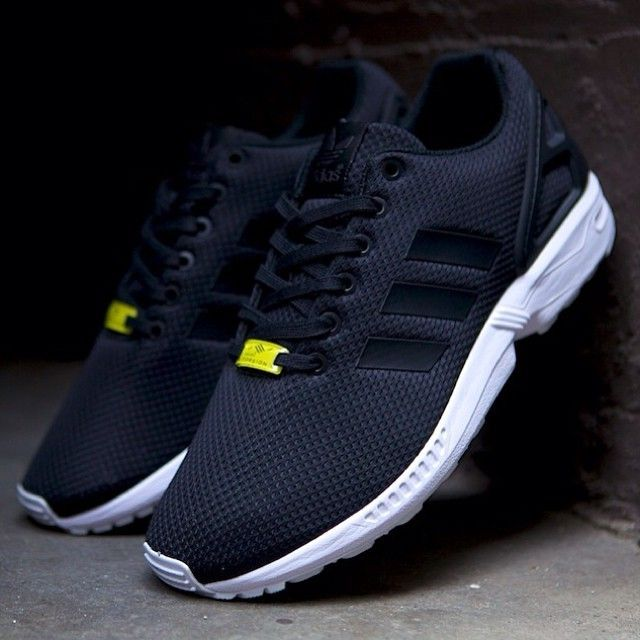 Casual Black Yellow Unisex Adidas Zx Flux Breathable Running Deep Shoes Latest