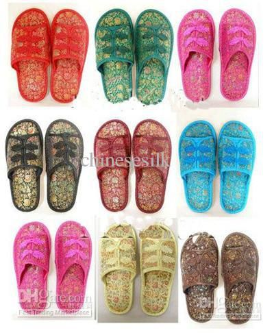 865748993 ... western boots and discount shoes here. You can never miss them. Good  new women's slipper indoor slippers hotel slipper silk flower plastic  bottom china ...