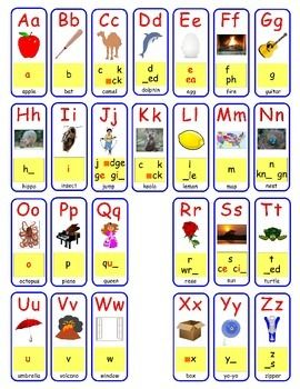 Free Wonders Sound Spelling Cards Mat With Images Phonics