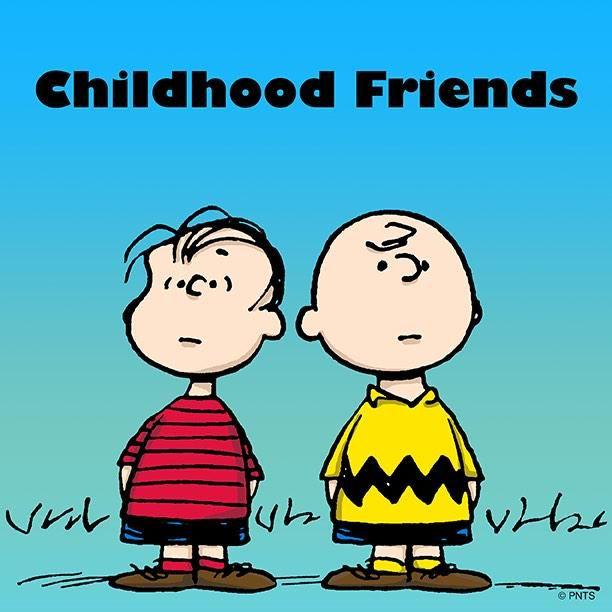 PEANUTS on Twitter #childhoodfriends