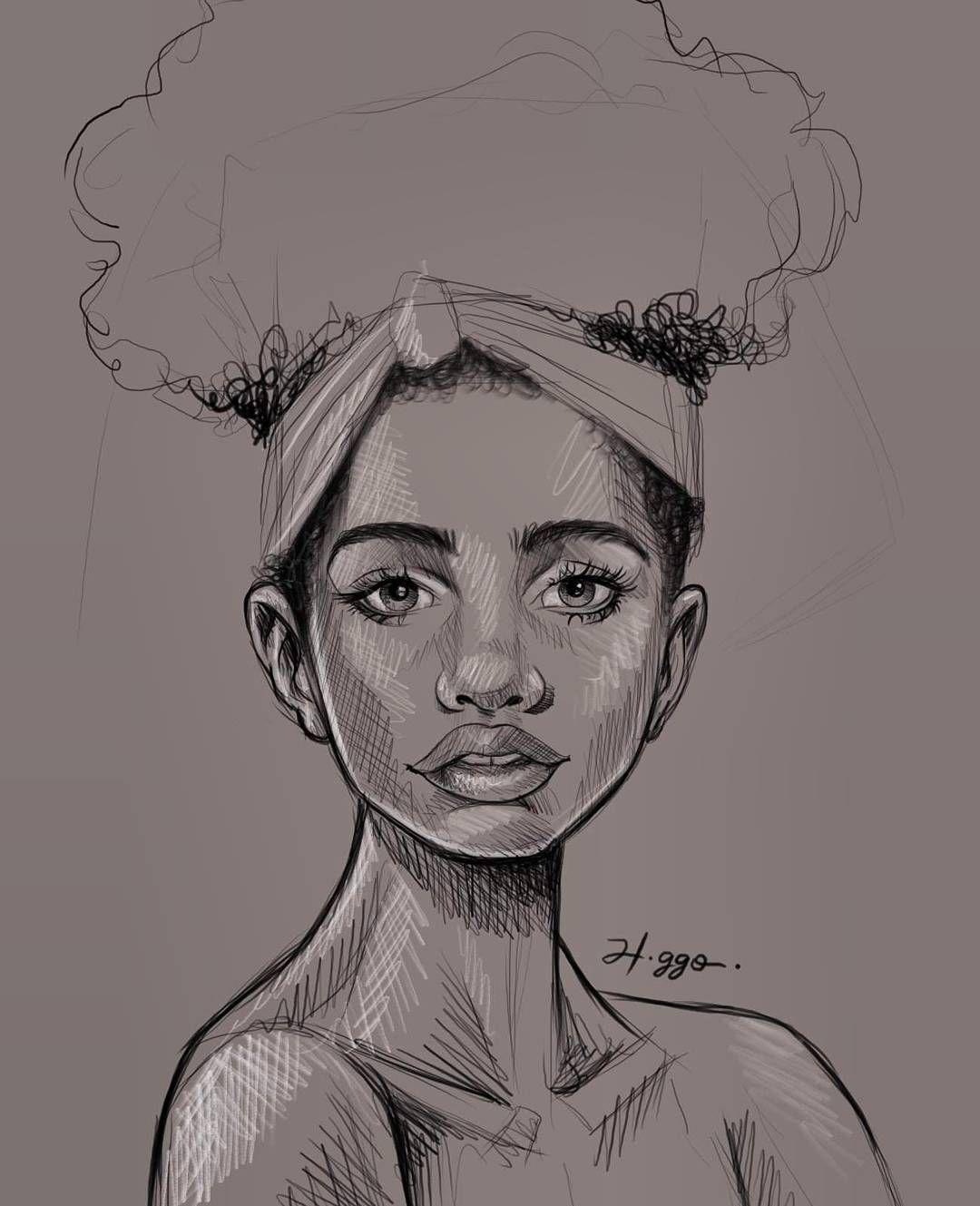 Famosos Afro brasileira, desenho #desenhando #beleza #criacao #arte  NR17