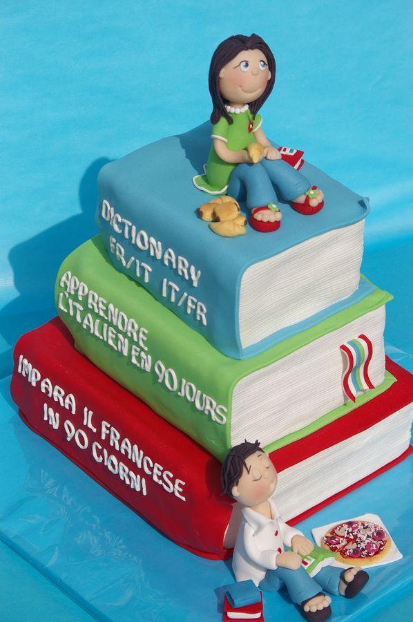 Books In Album Childrens Birthday Cakes Baby Shower Ideas