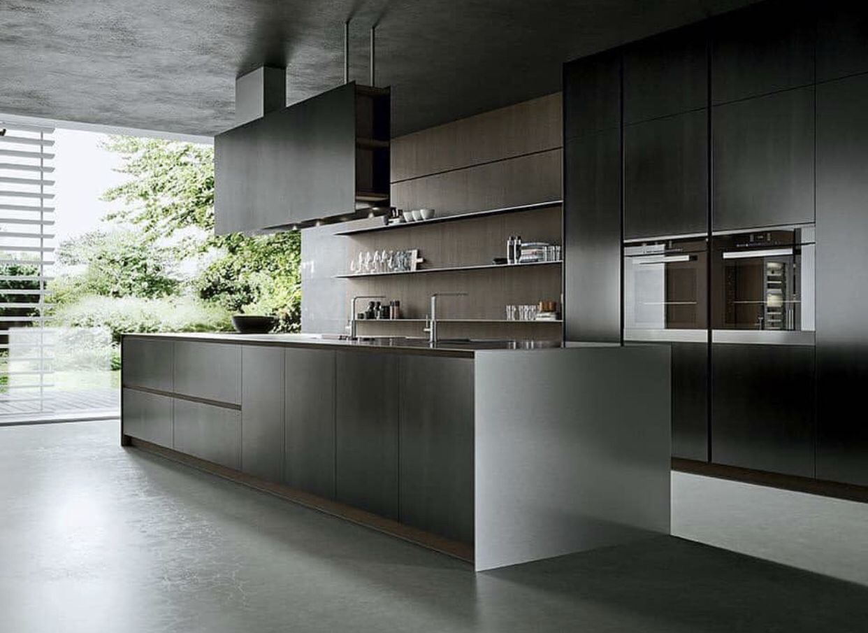 Arrital Kitchens Continue To Inspire Us Here At Divine Dark Kitchen Spring Forth As Autumn S New Design European Kitchen Design Modern Kitchen Kitchen Decor