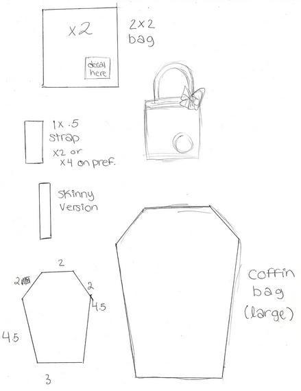 Cute Lolita Bag Patterns (modified Gothic and Lolita Bible purse ...