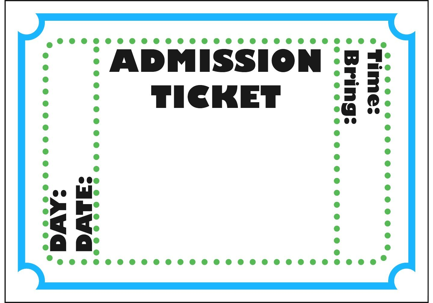Free Printable Admit One Ticket Template Clipart Best This Is In Jpeg Format And Can Be Used As Movie Ticket Template Ticket Template Printable Ticket Template Free admit one ticket template