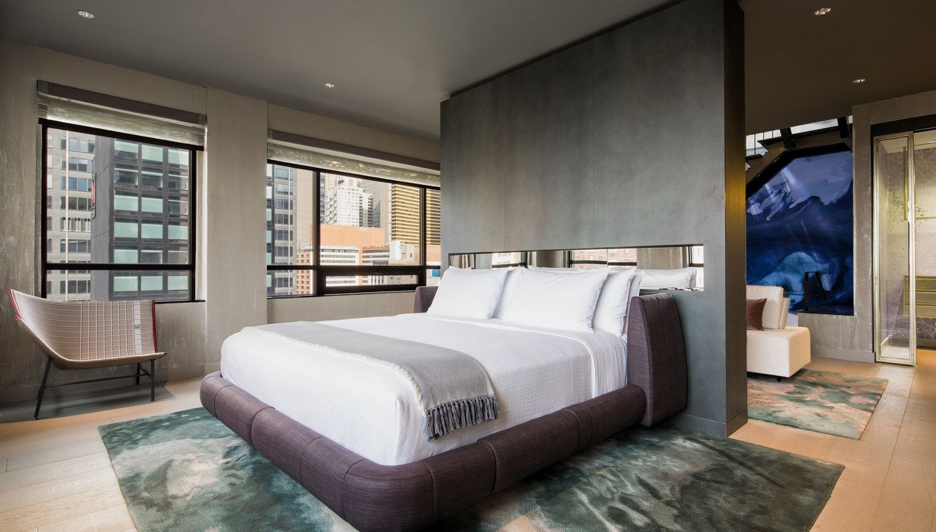 Luxury Hotel In Times Square Midtown Manhattan Time