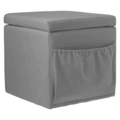 Miraculous Storage Ottoman With Pocket Grey Target 20 Ottoman Grey Ocoug Best Dining Table And Chair Ideas Images Ocougorg