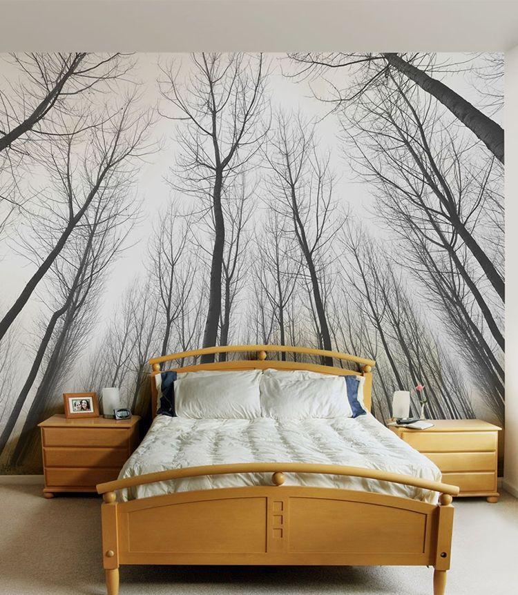 Fototapete Erzeugt Hohe Oder Tiefenwirkung Schlafzimmer Ideen Zimmer Schlafzimmer