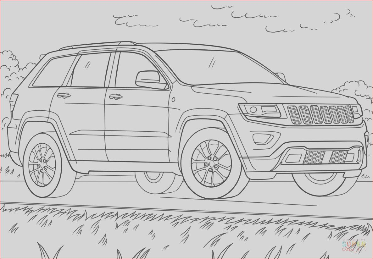 14 Awesome Collection Of Coloring Jeep In 2020 Cartoon Coloring Pages Jeep Drawing Coloring Pages