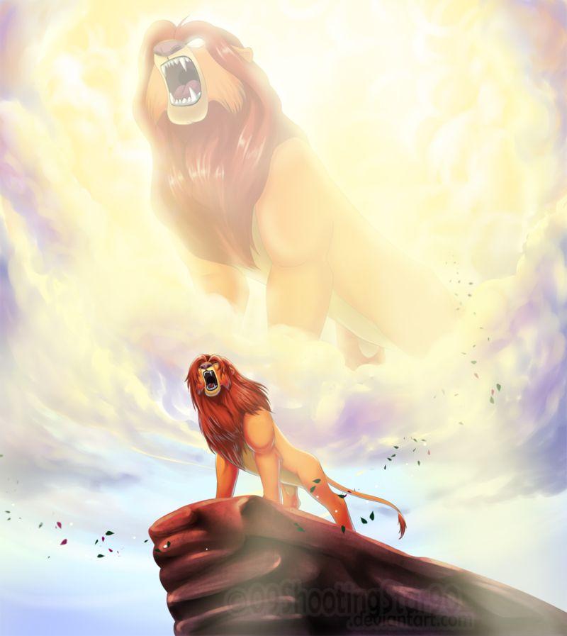 Simba + Mufasa He Lives In You