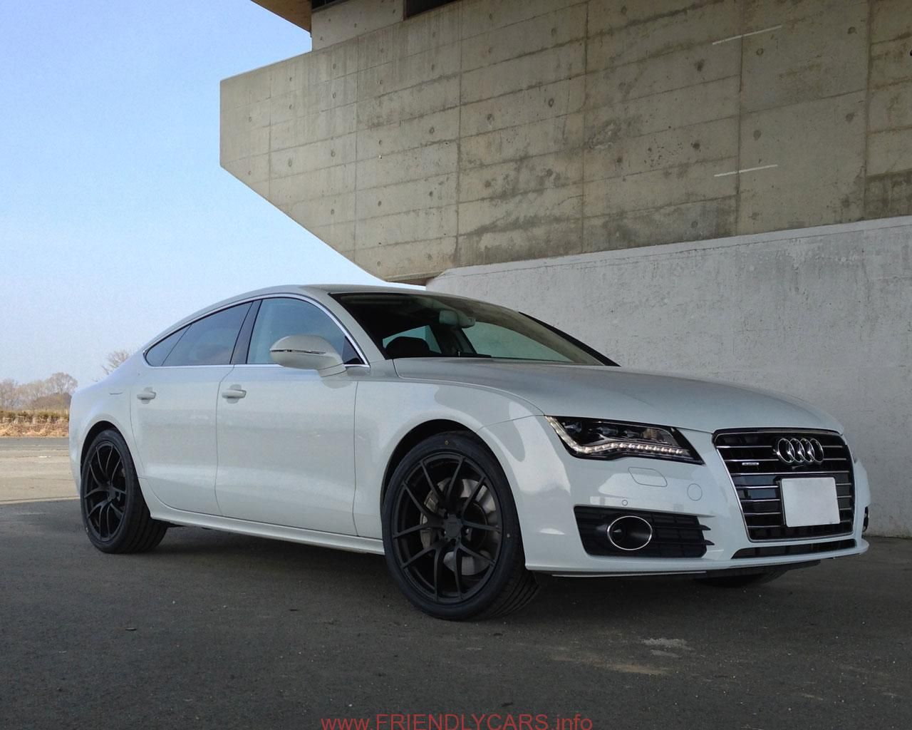audi a7 white wallpaper. awesome audi a7 black rims car images hd white with free wallpaper