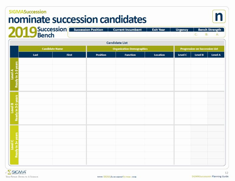 Simple Succession Plan Template Fresh Succession Planning Template Sigma Assessment Systems In 2020 How To Plan Succession Planning Business Plan Template Free