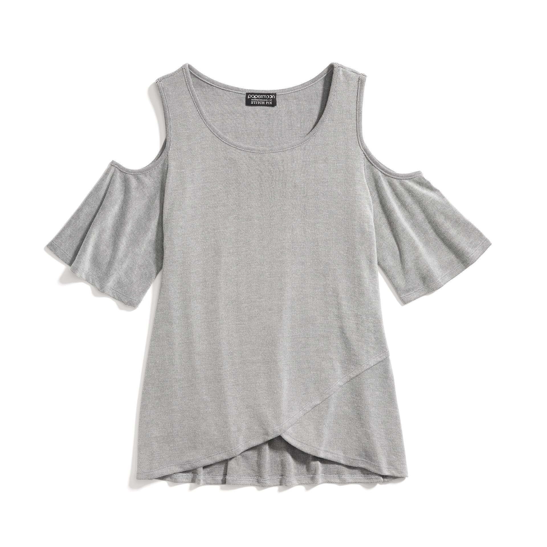 3a868e58cc3f Stitch Fix New Arrivals: Grey Cold-Shoulder Top Cold Shoulder Shirt,  Shoulder Shirts