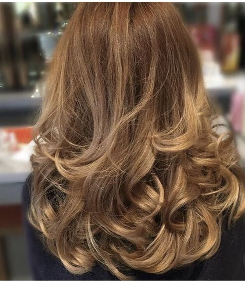 pin by sara on finished looks in 2019 | wavy hair, bouncy