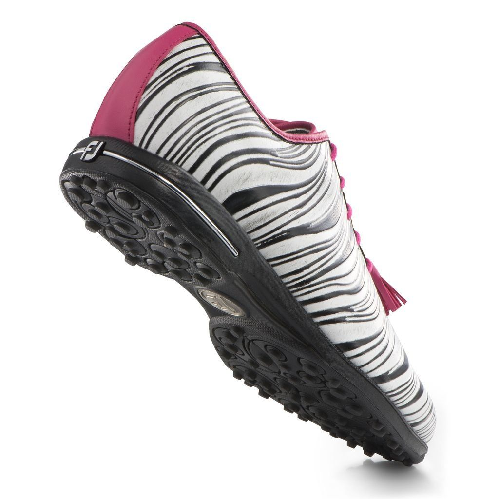 FootJoy Womens Tailored Collection Spikeless Golf Shoes Closeout 7 BM US  Zebra Fuchsia 91652     Be sure to check out this awesome product. 7f5647bf676