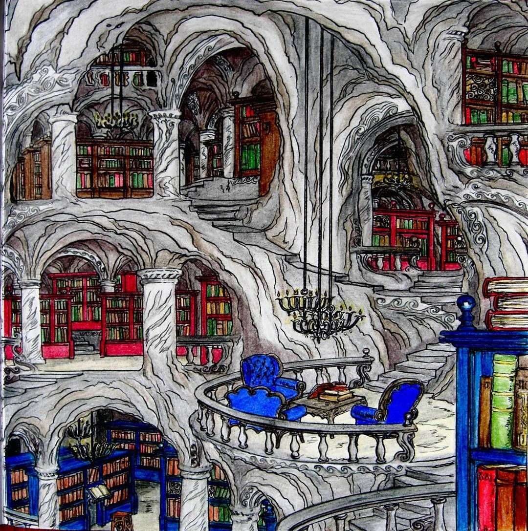 The Library Under The House Of Winds Belonging To Rhys From A