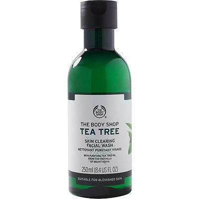 The Body Shop Tea Tree Skin Clearing Facial Wash Size 8 4 Oz8 4 Oz Body Shop Tea Tree Tea Tree Oil For Acne The Body Shop