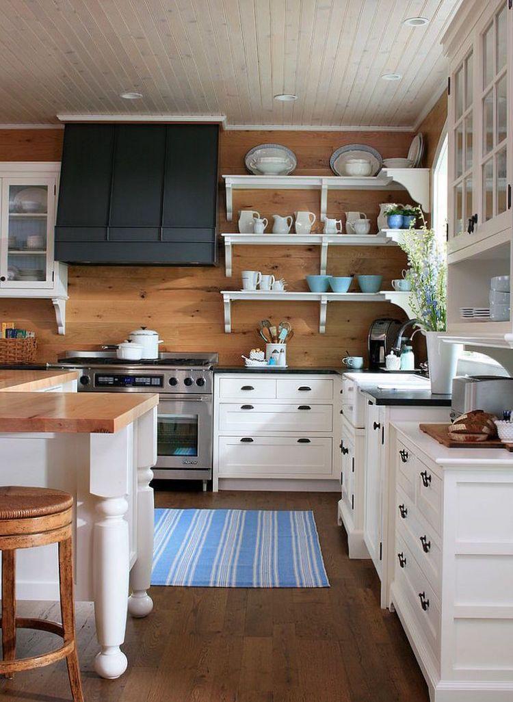 wandpaneele-küche-küchenspiegel-landhaus-holz-traditionell ...