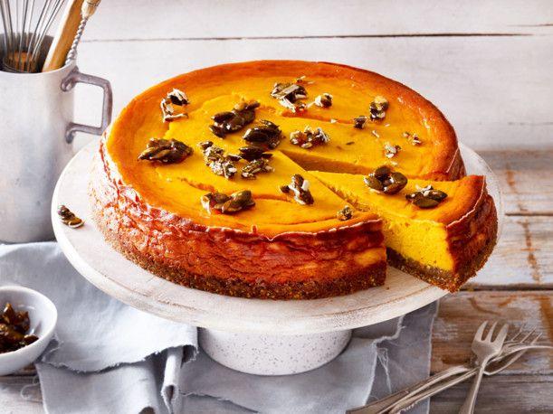 Kürbis-Cheesecake Rezept | LECKER