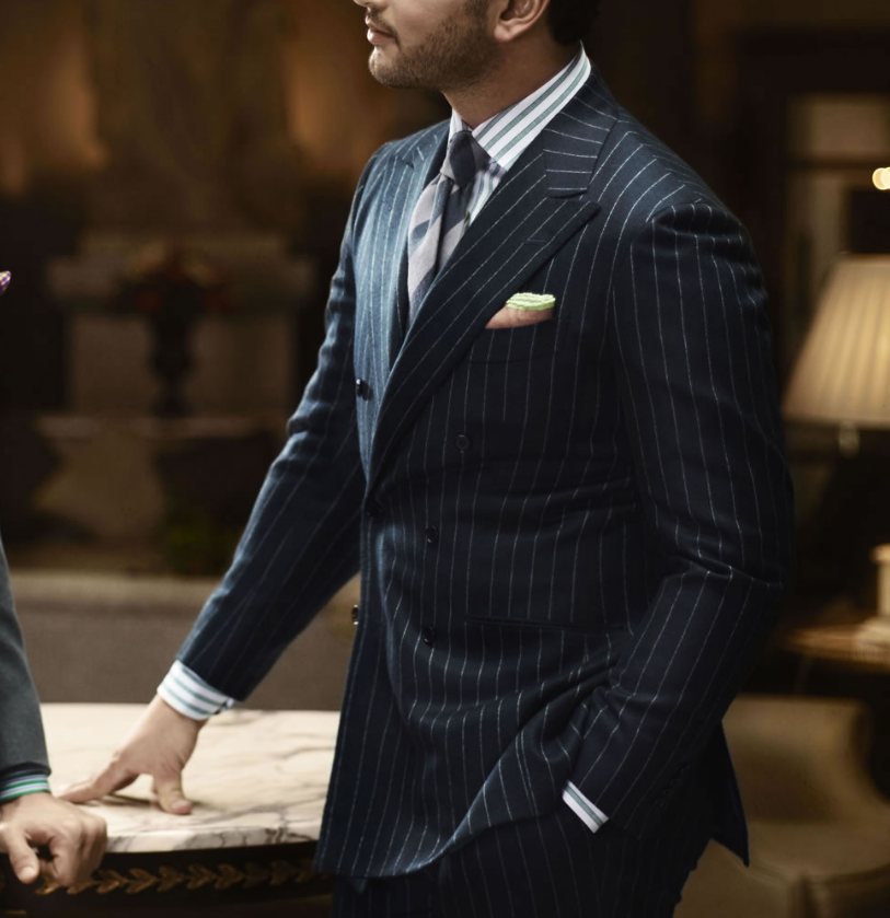 ♢Kiton♢Tailor-made custom pinstripe suit. | Gear for Guys ...