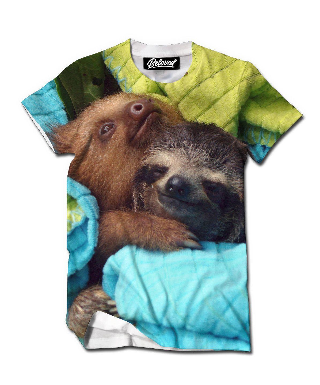 Cuddle Sloths Men's Tee