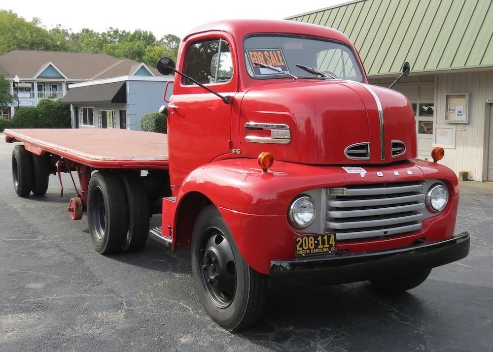 1950 Ford F5 Coe Cab Over Engine Vintage Truck Trucks Ford Trucks Semi Trucks
