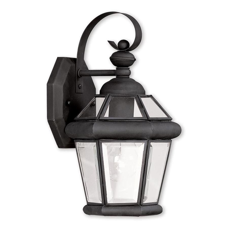 Livex Lighting Georgetown 11 In H Black Electrical Outlet