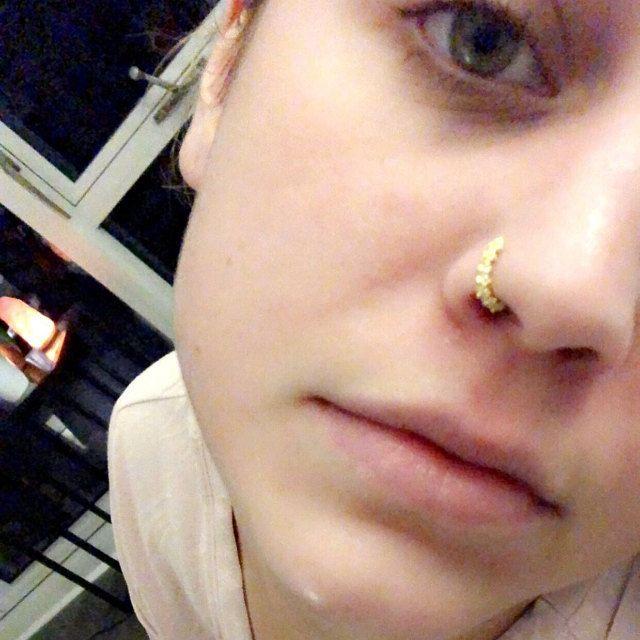 Silbernänosenring, Goldener Nasenring, Boho Piercing, Indischer Nasenring, Boho Nose Ring, Tragus, Helix, Knorpel Ohrring, Gauge Selection #nosering