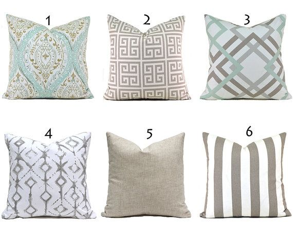 Pillow Covers Any Size Decorative Home Decor Pillow Cover Ecru