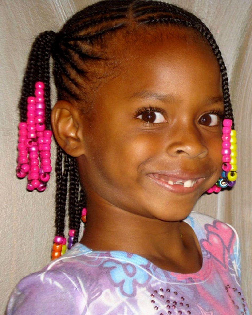 Cute Hairstyles Little Black Girls Hair Styles Kids Braided Hairstyles Short Hair Black