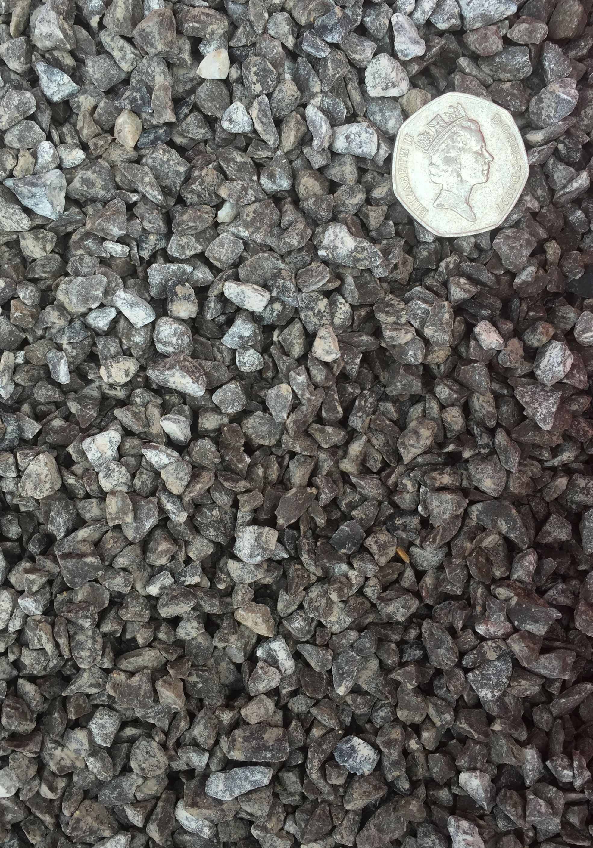 6mm Limestone Chippings With Scale Provided Decorative Gravel Limestone Gravel