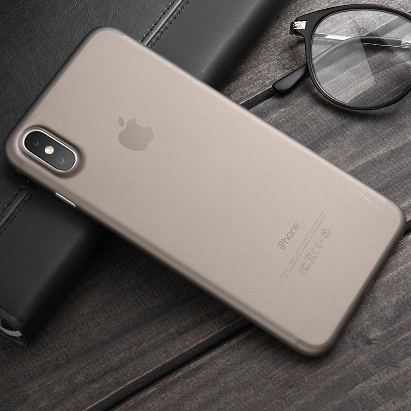 Leather Ultra Thin Case For iPhone Xs Xr XS Max X 8 7 6