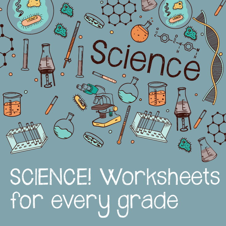 Our 3 favorite science worksheets for each grade | Free worksheets ...