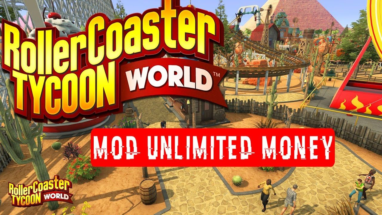 RollerCoaster Tycoon Touch MOD APK Unlimited Money | Android