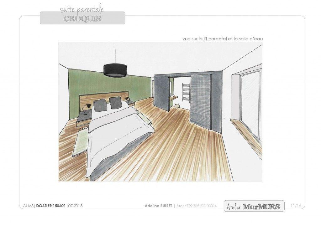 Suite parentale #chambre #suite parentale #renovation #architecture