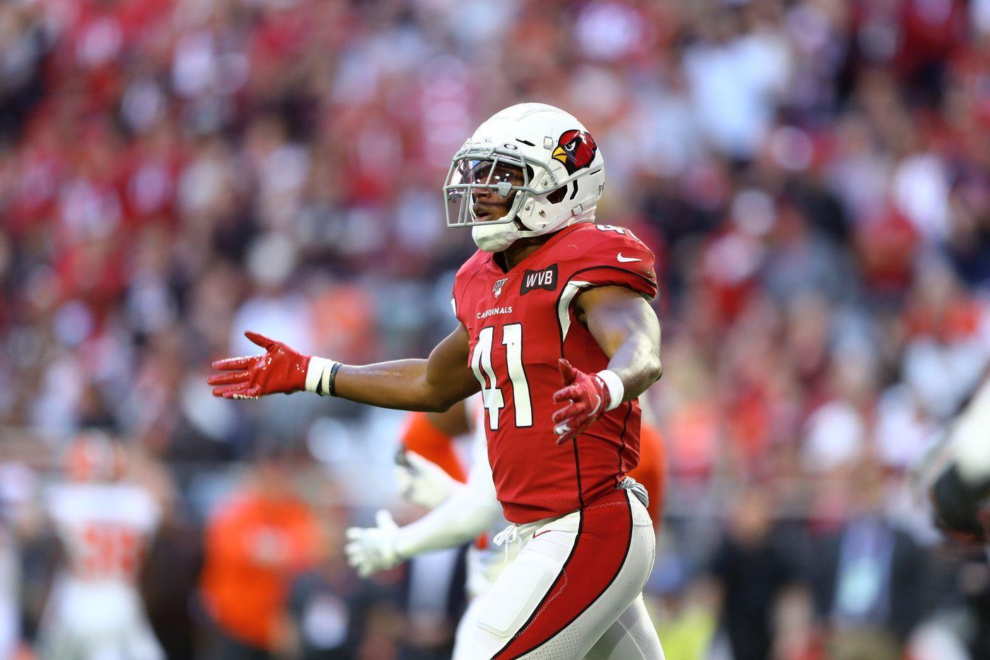 Kenyan Drake Arizona Cardinals Detroitsportsfrenzy Com In 2020 Kenyan Drake Arizona Cardinals Football Helmets