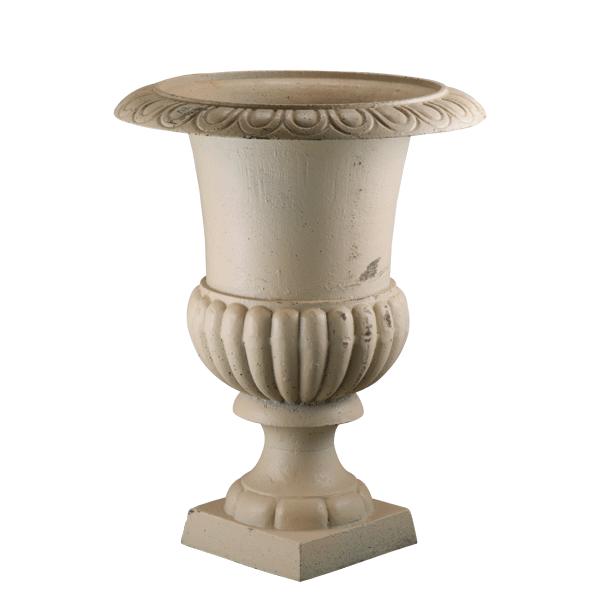 Extra Large White Cast Iron Urn Antique Finish White Urn Garden Urns Urn