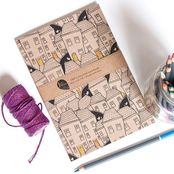 A5 Notebook Yarn Fax