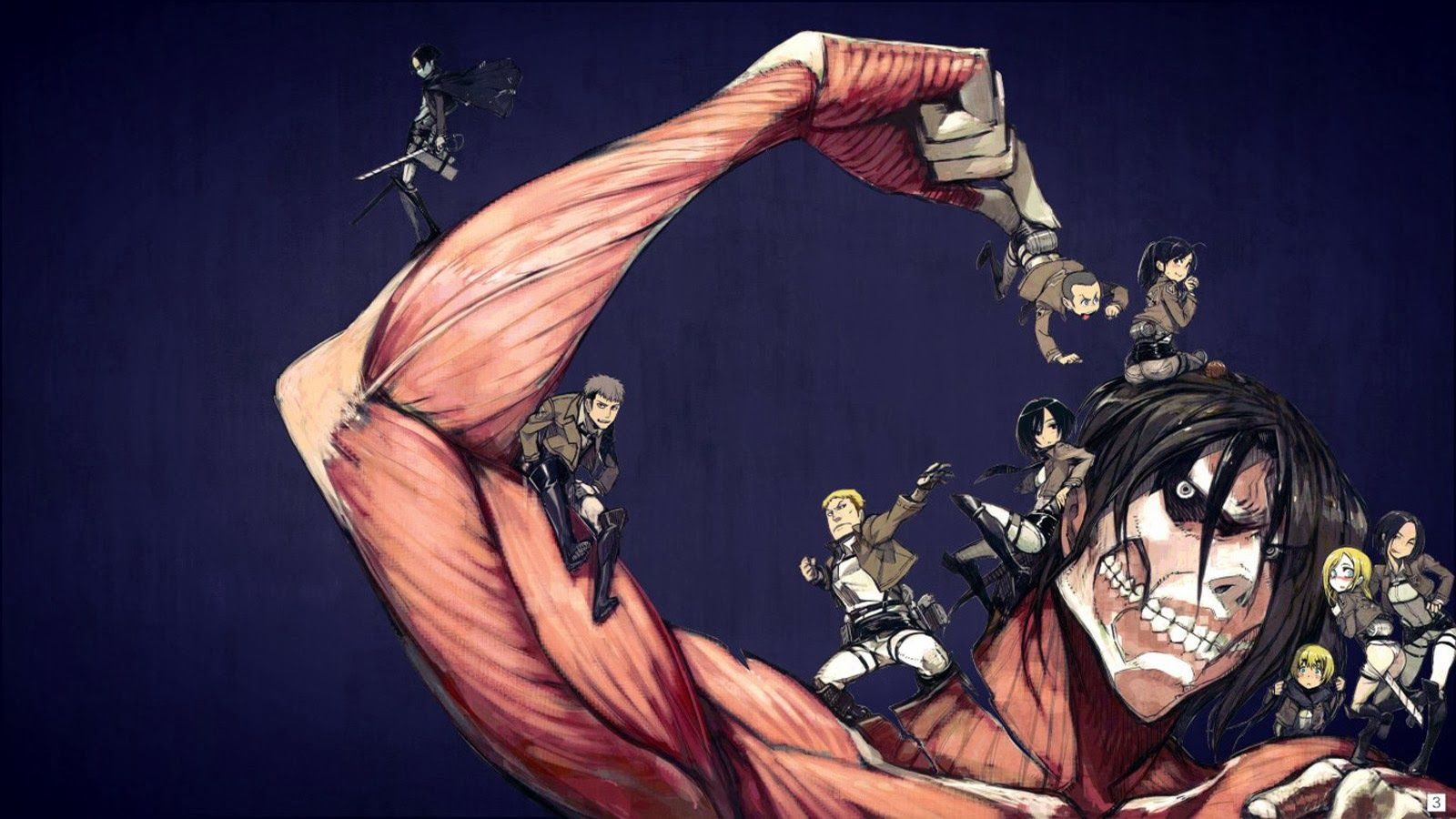 Pin By Spongbob Square Pants On Shingeki No Kyojin Attack On Titan Character Wallpaper Attack On Titan Anime