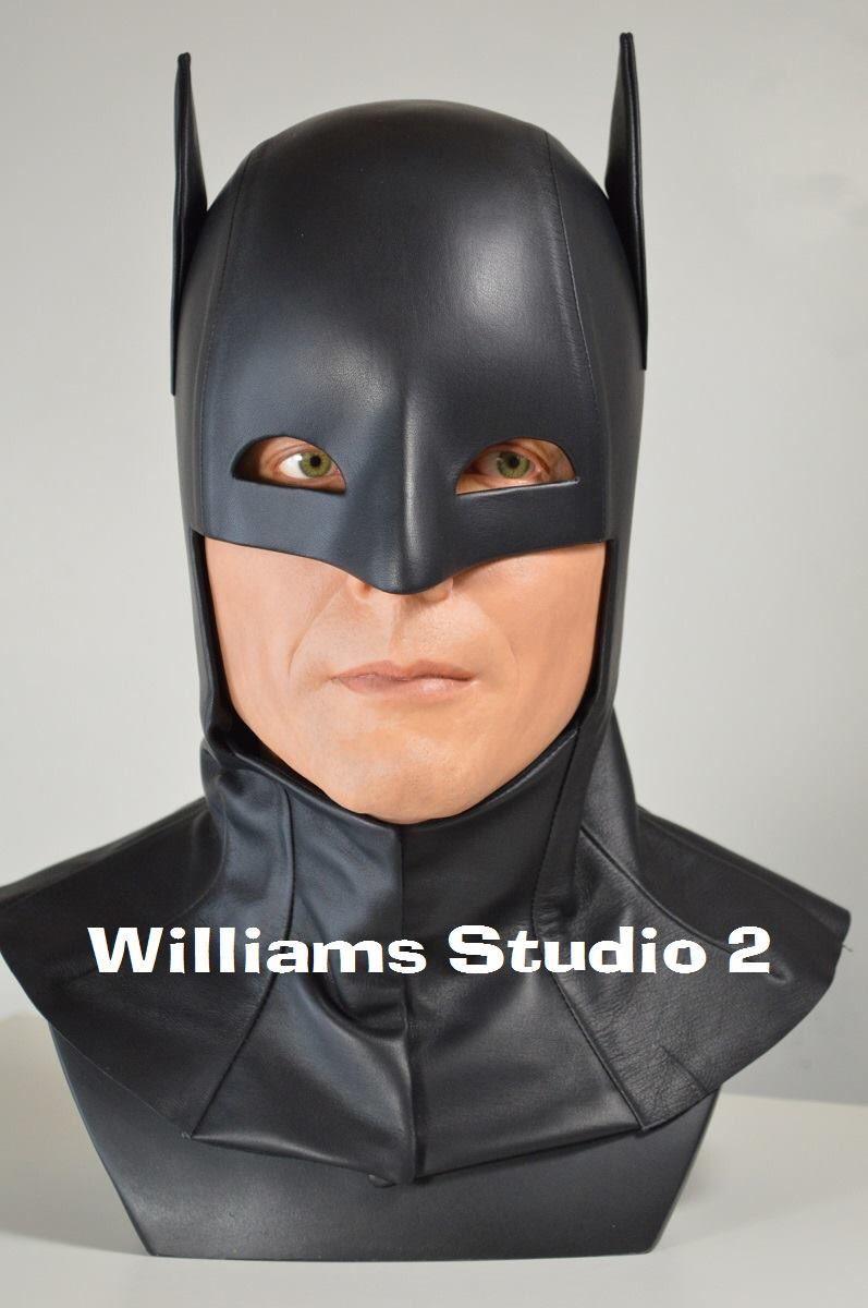 Batman Adam West custom black leather version.