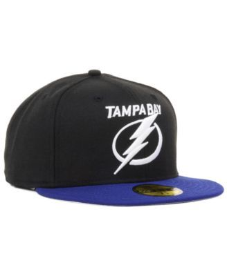 new arrivals 0f092 4ee41 New Era Tampa Bay Lightning Basic 59FIFTY Fitted Cap - Black 7 5 8
