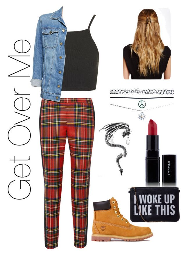 Get over me by goodegirl47 on Polyvore featuring polyvore, fashion, style, Topshop, Current/Elliott, Moschino, Timberland, Wet Seal and Natasha Accessories