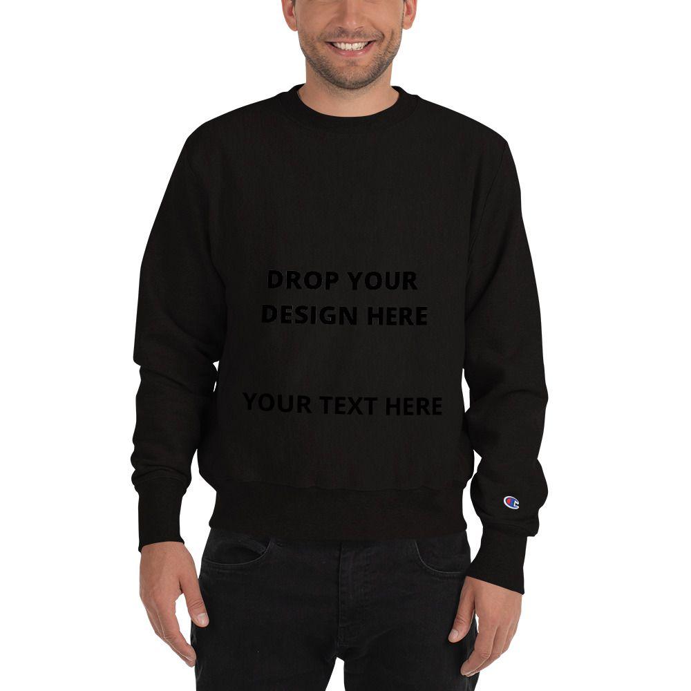 Men S Personalized Champion Sweatshirt Sweatshirts Trendy Sweatshirt Champion Sweatshirt [ 1000 x 1000 Pixel ]