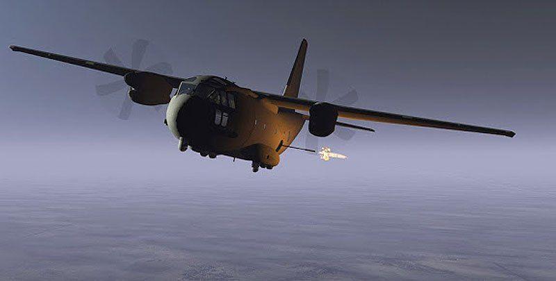 MC-27J ATK developed with airframer Alenia Aermacchi