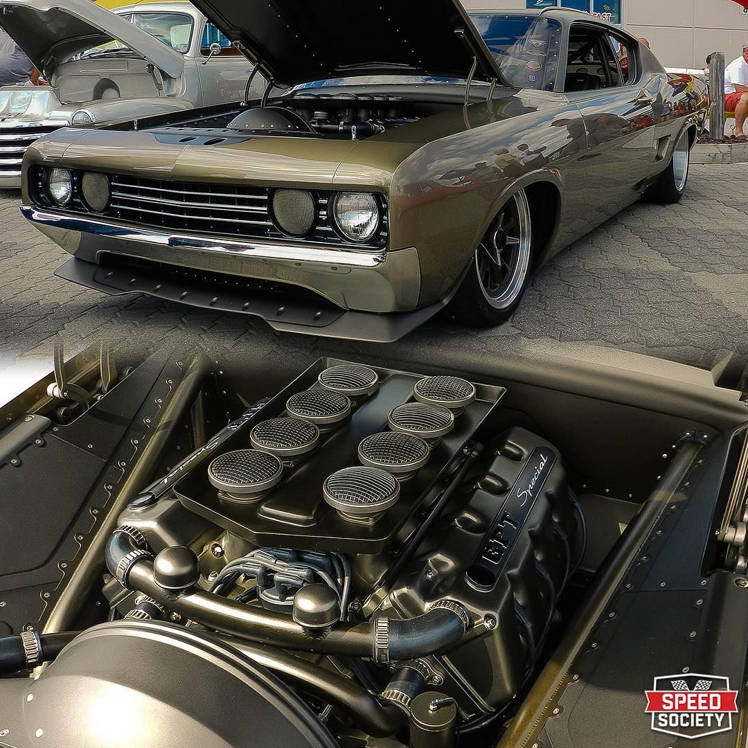 Rad Rides by Troy built \'69 Ford Talladega GPT Special. The motor is ...