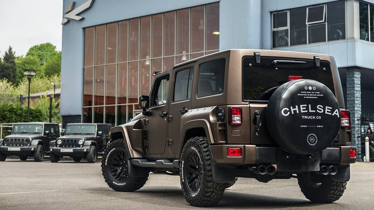 This Special Jeep Wrangler Night Eagle Could Be Yours For 78 750 Jeep Wrangler Jeep Trucks